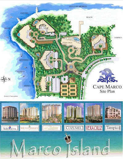 Cape Marco Condos for Sale in Marco Island Florida