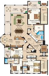 Carrara at Talis Park Floor Plan