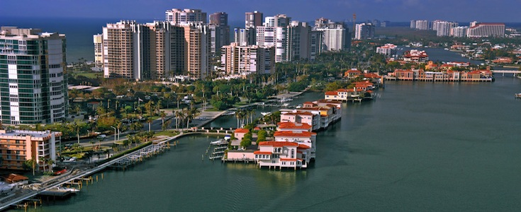 Find Naples waterfront homes and condos for sale