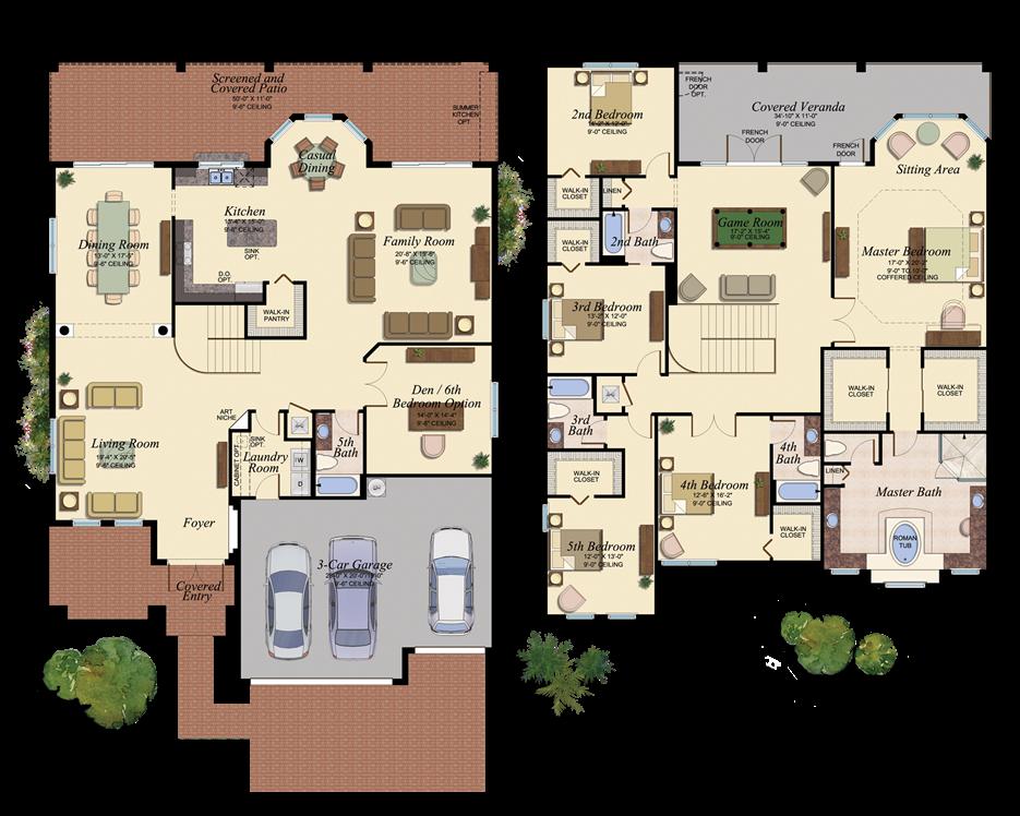 Riverstone real estate homes for sale for Venetian floor plan